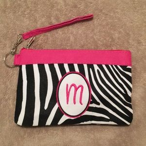 "Handbags - Zebra print ""M"" Small cosmetic or jewelry bag"